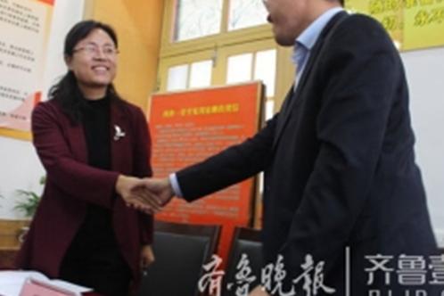 陈旭峰主任参与一教育集团一法律顾问签约仪式